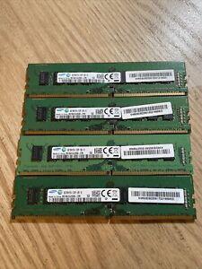 Lot of 4 Samsung M378A1G43DB0-CPB 8GB RAM Memory DDR4