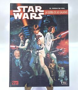 Star Wars La Guerra De Las Galaxias El Juego Del Rol 1990 Spanish Book Vintage