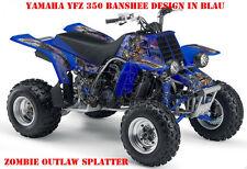 Invision décor Graphic Kit ATV yamaha le Hurleur yfz 350 zombie Outlaw BROCHETTES B