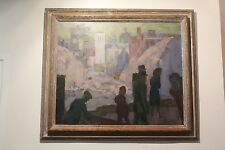 Stephen James Andrews - huile sur toile signée en bas à droite - titrée au dos