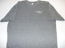 Textron Aviation Beechcraft Cessna Hawker Adult XXL Gray T Shirt Logo Front Only