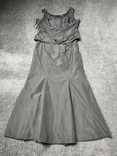 Abendkleid Größe 48 Schwarz 2 Teilig
