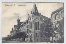 AK Strasbourg, Strassburg, Alsace, Hauptpostamt, verm. 1906