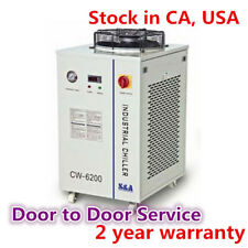 US-S&A CW-6200BN Industrial Water Chiller for45KW CNC Spindle Cooling 220V 60Hz