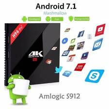 H96 Pro+ Amlogic S912 Octa Core Android Smart TV Box 3GB 16GB 4K HD BT Dual WiFi