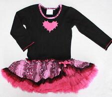 OOH LA LA COUTURE Boutique Long Sleeve Dress Girl Size 2 2T Chasing Fireflies