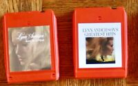 2 lot 8-Track tapes Lynn Anderson's Greatest Hits/ Keep Me In Mind Country, Folk