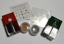[innisfree] Real Color Nail Set (Nail Color & Sticker & Glitter Powder).