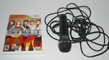 Wii Disney Sing It Pop Hits Karaoke Game & Microphone Rated E Taylor Swift Demi