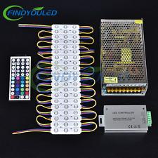24A remote+20A power+110FT 200pcsx3LED 5050 RGB led bar module STORE FRONT light