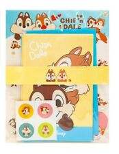 Disney Chip And Dale Letter Envelopes Staionery Paper Set Cute Design