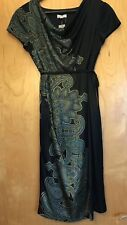 NWT A PEA IN THE POD MATERNITY DRESS SIZE SMALL BLACK