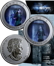2019 HI Ottawa Jail Hostel Spooky Ghost Haunted Canada 50-cent Coin Gift Pack