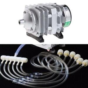Electromagnetic Air Compressor Oxygen.Aquarium Pond Pump Air Aerator*NICE