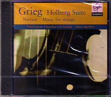 Iona BROWN: GRIEG Holberg Suite Norwegian Airs Melodies NIELSEN Little Suite CD