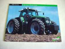 Fendt 900 Series Farm Tractor Color Brochure 24 Pages                         b1