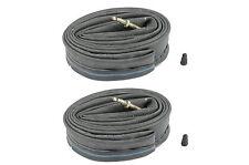 PAIR HP INNER TUBES 24 x 1.75, 24 x 2.25 (40/57-489/507) PRESTA VALVE TUBES