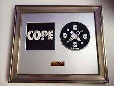 SIGNED/AUTOGRAPHED MANCHESTER ORCHESTRA - COPE FRAMED CD PRESENTATION. RARE