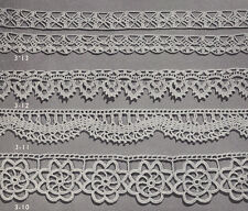 Vintage Crochet PATTERN to make 4 Special Lace Edging Designs Bands Insertions