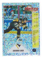92-93 Panini Jaromir Jagr Foil Glitter Sticker Card #5 Mint