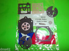 NEW REPLACEMENT CARBURETOR KIT FITS McCULLOCH CHAINSAWS  K10-HDB  18151M D8