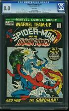 Marvel Team-Up #1 CGC 8.0 Marvel 1972 Spider-Man WP cm