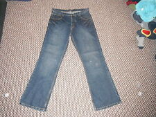 """New Look Use And Abuse Flint Bootcut W34"""" Leg 32"""" Faded Dark Blue Ladies Jeans"""