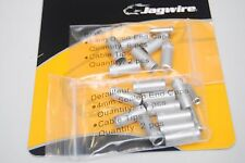 Kit Terminal Sheaths 4mm Jagwire Set for a Bike Col.Silver