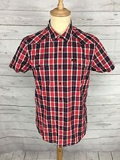 Mens Lee Check Shirt - Size Medium - Short Sleeved - Great Condition