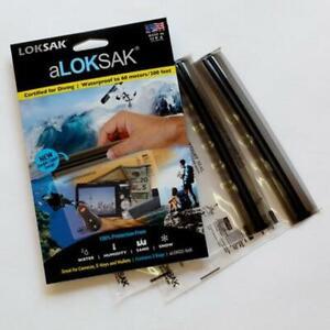 SALE: aLOKSAK Waterproof Bag Multi Pack - 6x6 (2 pack)