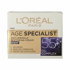 L'Oreal Paris Age Specialist 55+ Night Face Cream Anti-Wrinkle Lifting Effect