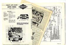 PHILCO  -  M-5741   AUTO RADIO  SERVICE MANUAL  ORIGINAL BOOK
