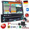 Autoradio mit Navi Bluetooth Navigation 1 DIN DAB+ MP3 Touchscreen DE EU Karte