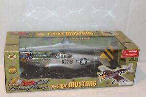 ULTIMATE SOLDIER WW2 U.S. P-51B/C MUSTANG Ltd. Edit. 21st CENTURY TOYS 1:32
