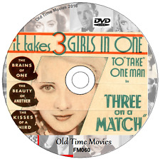 Three on a Match, Bette Davis, Joan Blondell, Ann Dvorak, Movie on DVD 1932