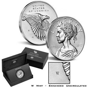 2017-W American Liberty 225th Anniversary 1oz Enhanced Uncirculated Silver Medal