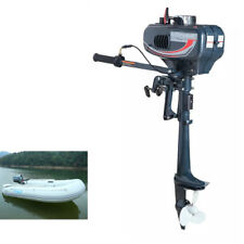 2 Stroke Petrol Power Outboard Engine Fishing Boat Engine Motor CDI System 3.5HP