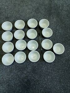 Joblot 17 Small Dipping Sauce Bowls  used