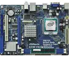 CPU PROCESSORE INTEL CORE DUO 2 E6550 + SCHEDA MADRE G41 + 4GB RAM DDR3 1333MHZ