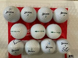 20 Srixon, soft feel golf balls AAAA Grade
