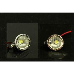For 1/14 Tamiya RC Tractor Truck 13MM/15MM Metal Etching Spotlight LED Light Set