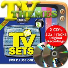 Classic Cuts Presents TV Sets Vol 3 & 4 Double CD - 70s 80s 90s & 00s Themes