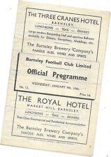 Barnsley v Newcastle FA Cup 3rd Round 9/1/1946