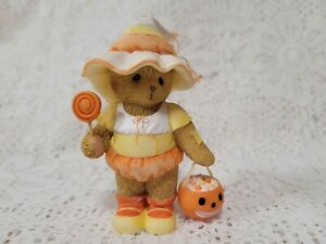 2015 Cherished Teddies Candy Corn 4047366 Halloween