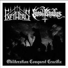 Exetheris/Goat fallica -... Crucifix split CD, dodsferd