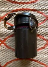 """Nikoin Rangefinder Nippon Kogaku Tokyo Lens Case 3.7"""" x 2.85"""""""
