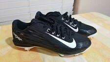 Nike Lunar Vapor Pro Flywire Baseball Cleats Men's Sz 12 Low (683895-010) Black