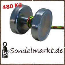HULK Bergemagnet Komplett Set Suchmagnet   inkl. 20 Schnur Metalldetektor