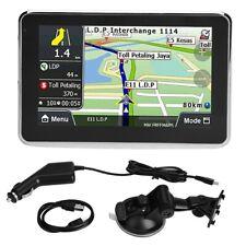 Universal 5'' Touch Screen Car Navigator GPS Navigation MP3 FM Europe Map 508 SN