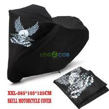 Black Skull Motorcycle Cover for Suzuki Boulevard M109R M50 M90 M95 LS650